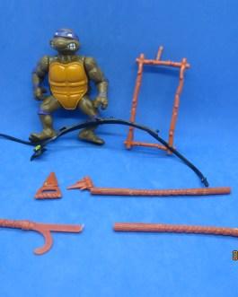 TMNT 1988 Donatello action figure Near complete Teenage Mutant Ninja Turtles Don