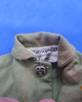 Vintage 1974 HASBRO GI JOE The DEFENDERS Green Jumpsuit