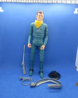 Vintage Marx Toys Best Of The West Johnny West Captain Maddox 1970's 12″ figure
