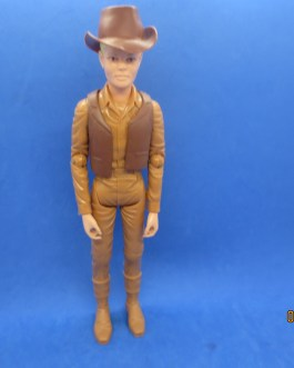 Jay West Johnny West Best of the West Marx 9″ Vintage Action Figure