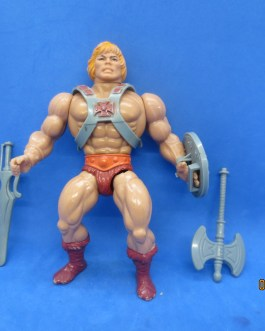 Vintage Masters Of The Universe Soft Head HE-MAN Figure Complete He man
