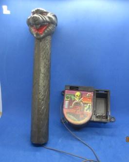 MOTU He-Man 1984 Snake Mountain MICROPHONE & SPEAKER Vtg part TESTED & WORKS