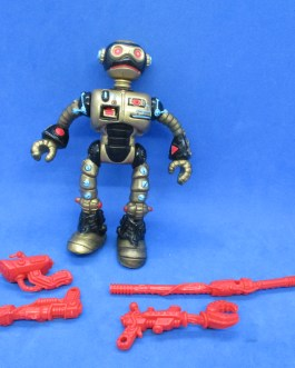 Vintage 1990 Teenage Mutant Ninja Turtles TMNT Fugitoid Figure, Complete