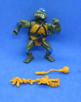 Teenage Mutant Ninja Turtles TMNT Wacky Sword Slicin Leo Figure 1990 Vintage
