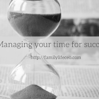 Managing your time for success