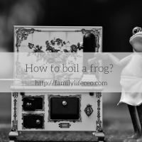 How to boil a frog?