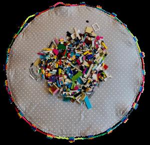 Rainbow LEGO Mat
