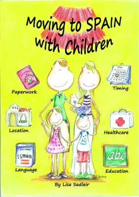 Ilustracion Portada Moving to Spain whith Children