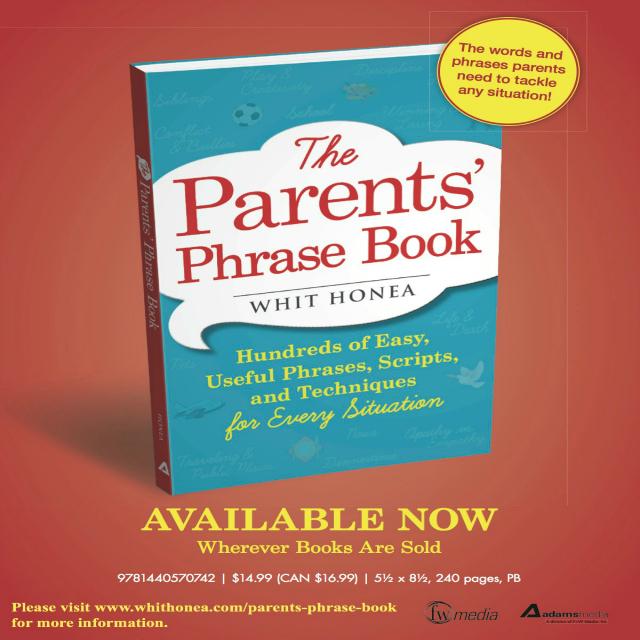 parents phrase book, whit honea, book, kids, empathy,