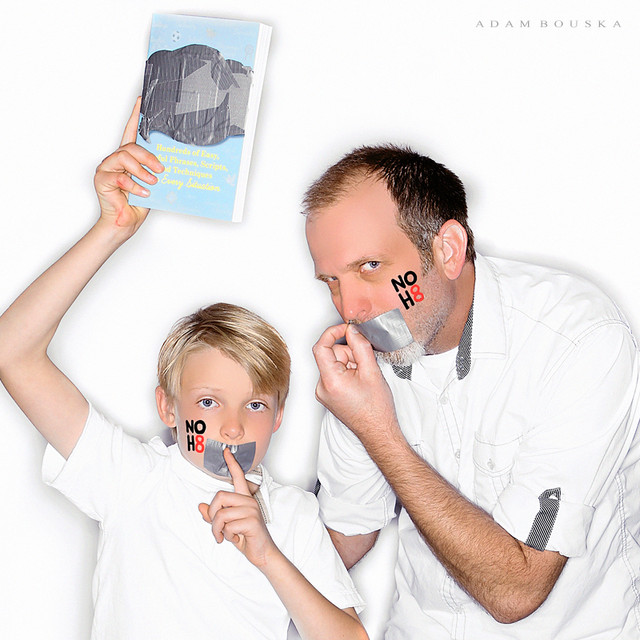 noh8, whit honea, atticus honea, the parents' phrase book