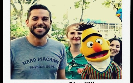 zachary levi, bert, sesame stree, sunny day, lovely day, video