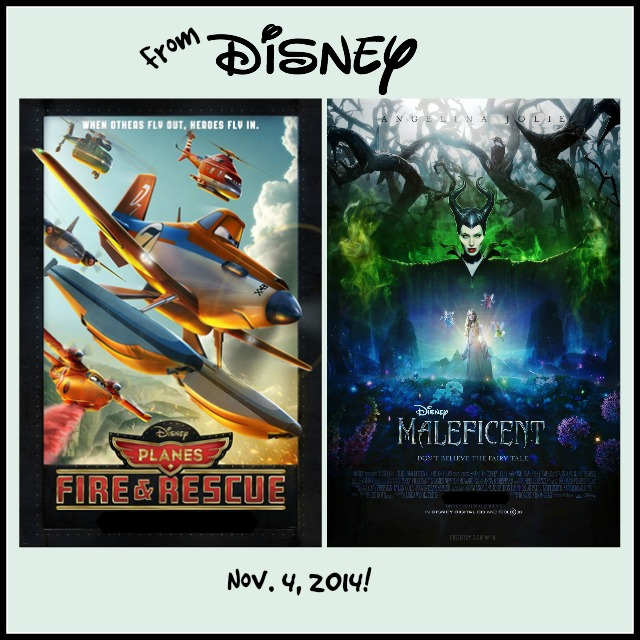 Disney's Planes Fire and Rescue and Maleficent release