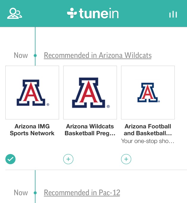 TuneIn Radio Arizona Station