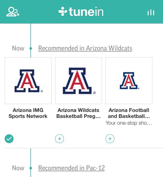 TuneIn Radio Arizona Station