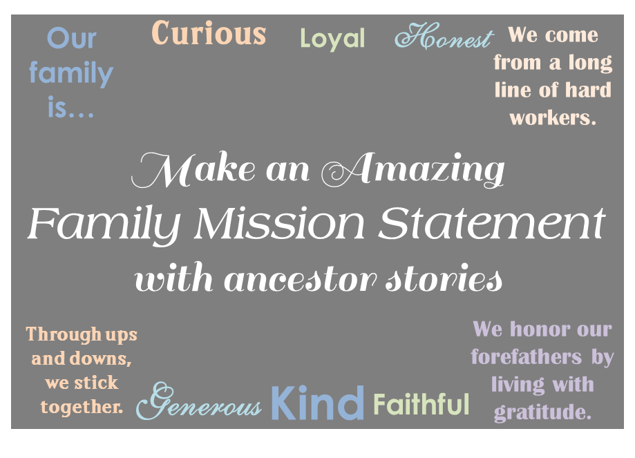 Family Mission Statements