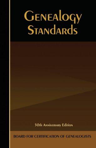 genealogy standards