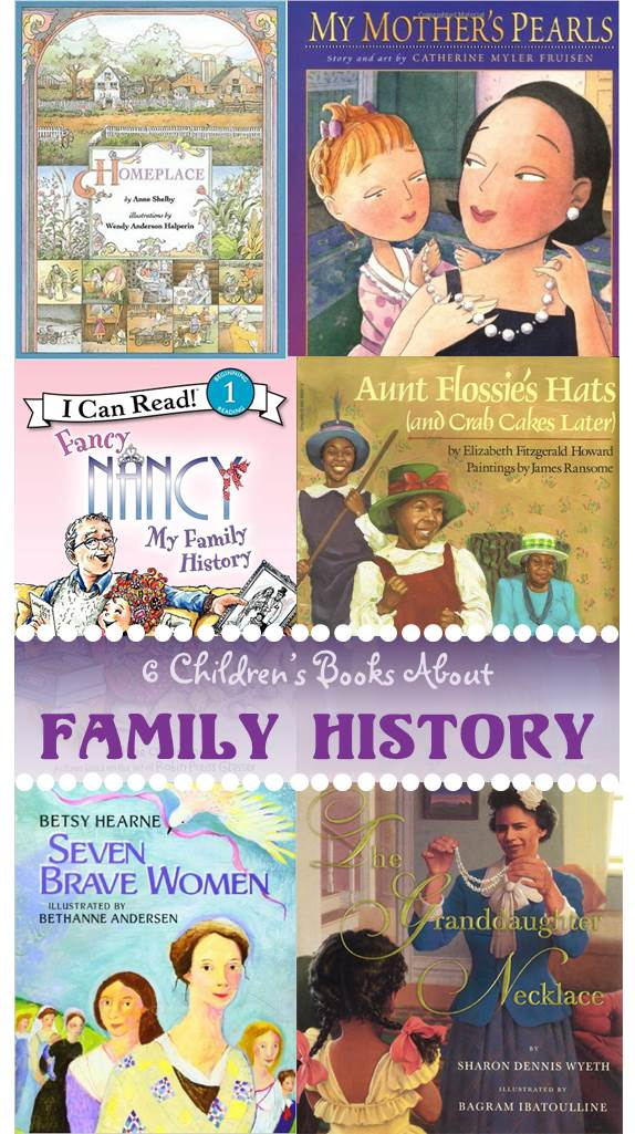6 children's books about family history