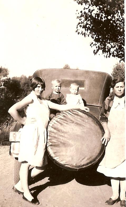 Ettie, C.H., Bob Shults and Alice Frazier Harris