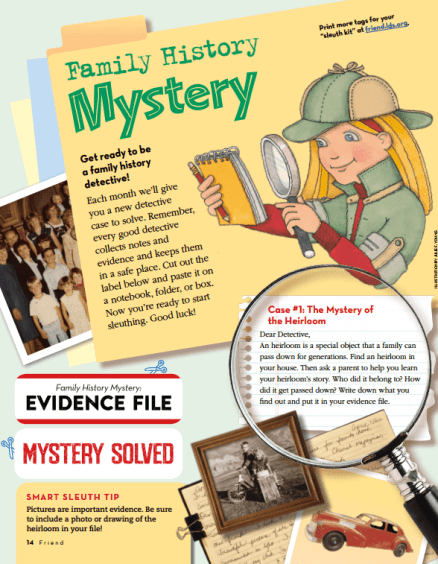 friend family history mystery