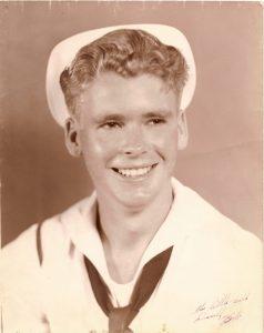 Bob in Navy uniform age 18