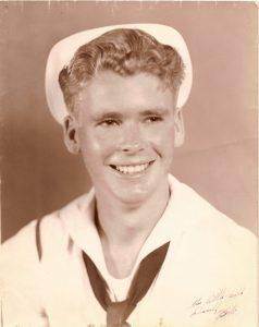 Bob in Navy uniform age 18