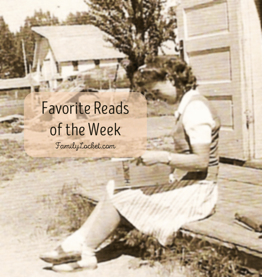 Favorite Reads of the Week: 7 May 2016 – Ancestor book for kids, new genetic genealogy workbook, FamilySearch tips