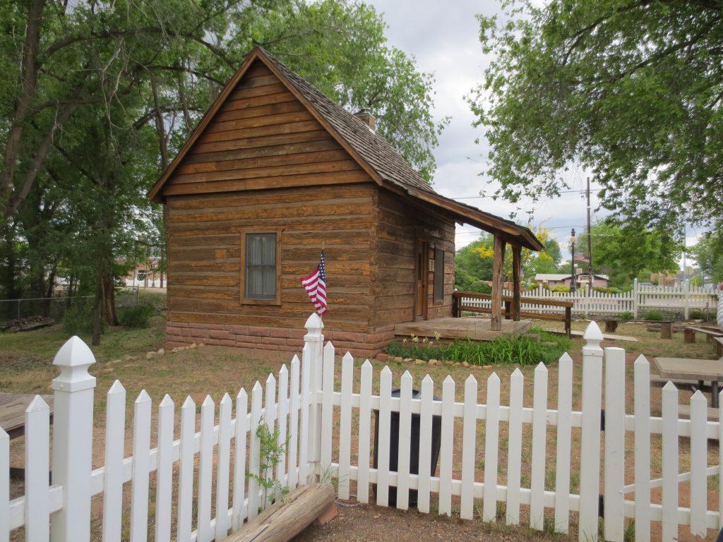 Margaret Ann McCleve Hancock Cabin, Taylor, Arizona