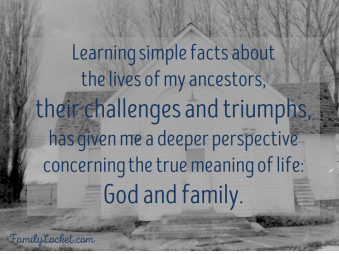 Learning about ancestors gives deeper perspective on true meaning of life