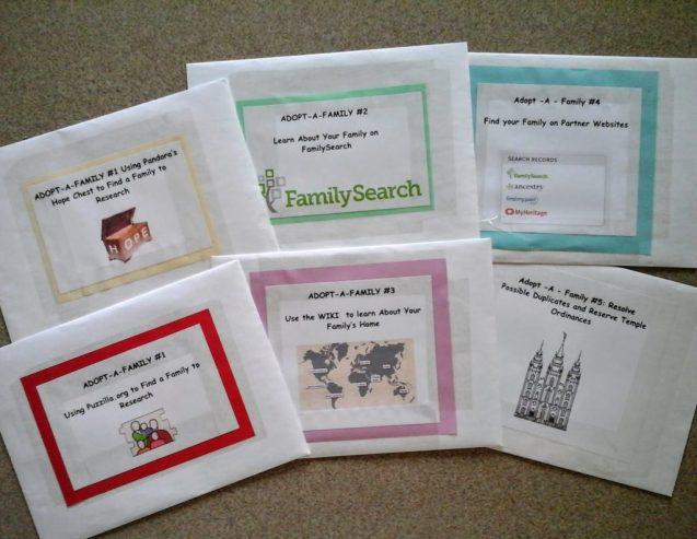 Adopt a Family Envelopes