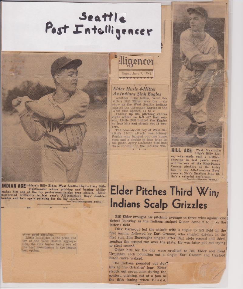 Bill Elder pitcher