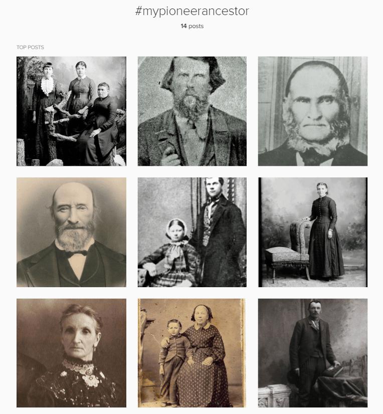 instragram my pioneer ancestor
