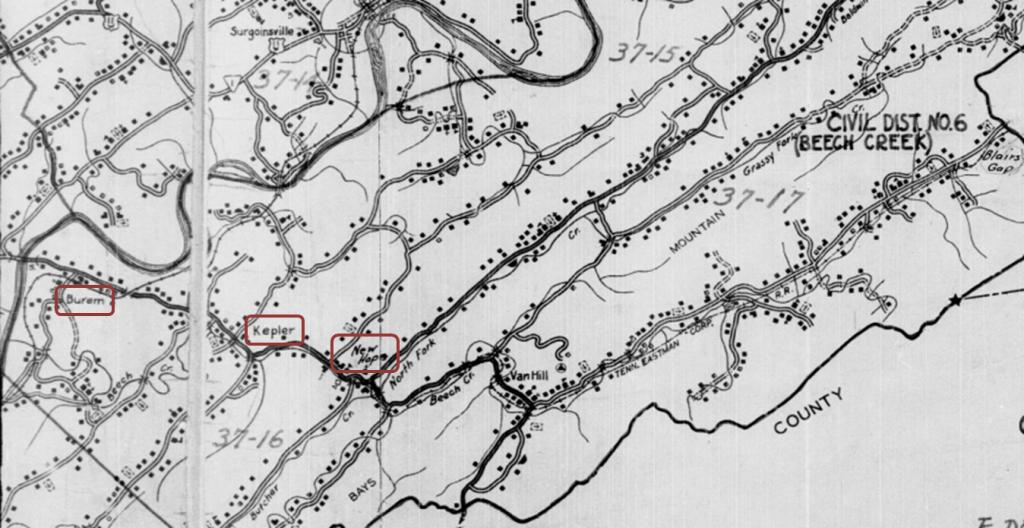 Us Census Enumeration District Maps - 1920 us map