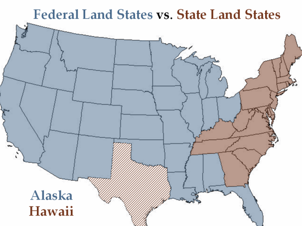federal_vs-_state_land_states