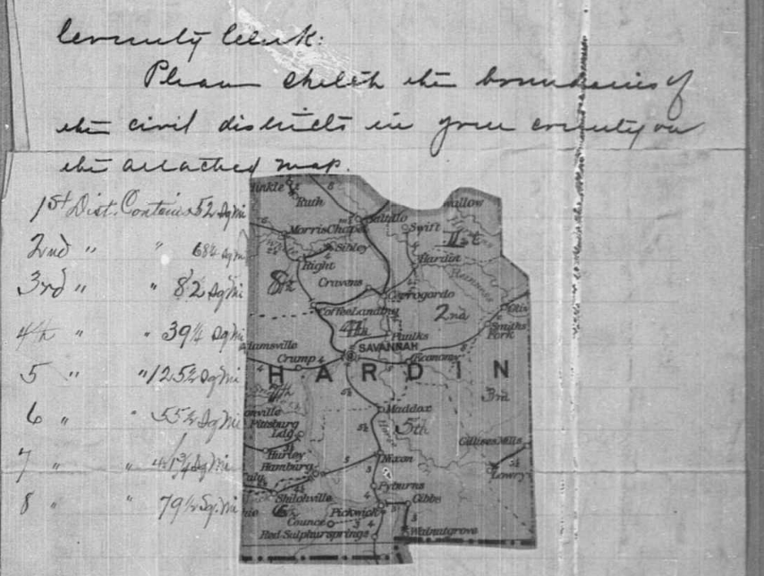 hardin-county-1900-enumeration-district-map