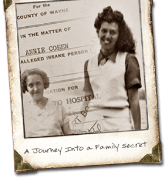 Steve's grandmother, Tillie Schlein, and mother, Beth Cohen Luxenberg (website photo courtesy of Steve Luxenberg)