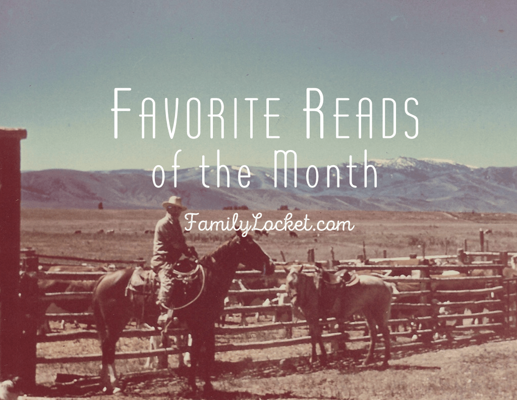 Favorite Reads of the Month – January 2017
