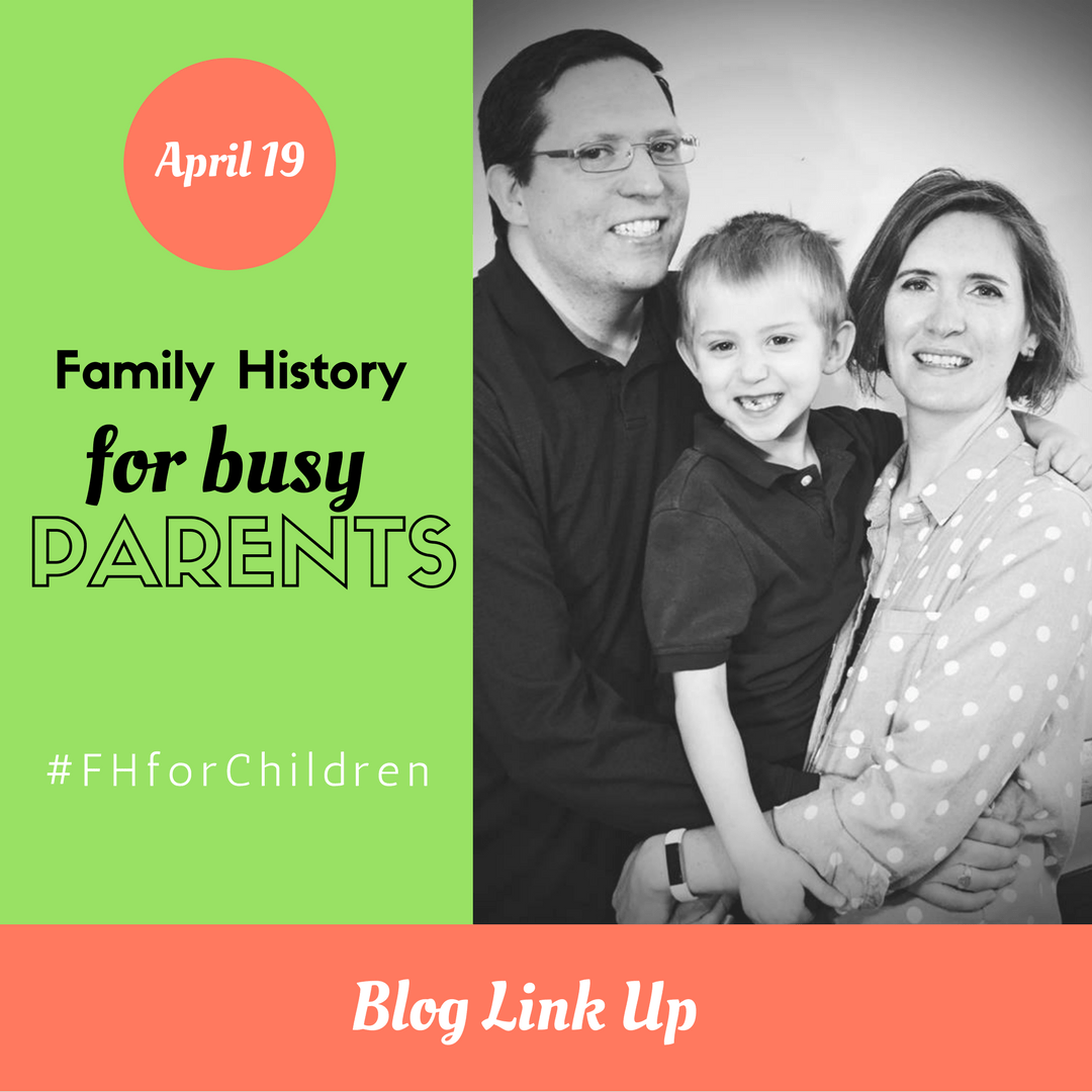 Tips for Busy Parents – April Blog Link Up