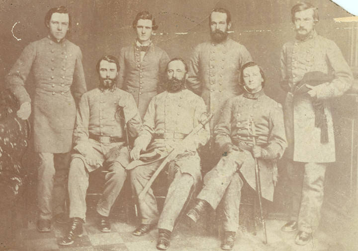Members of the original staff of the 14th Alabama Infantry regiment, Confederate officers