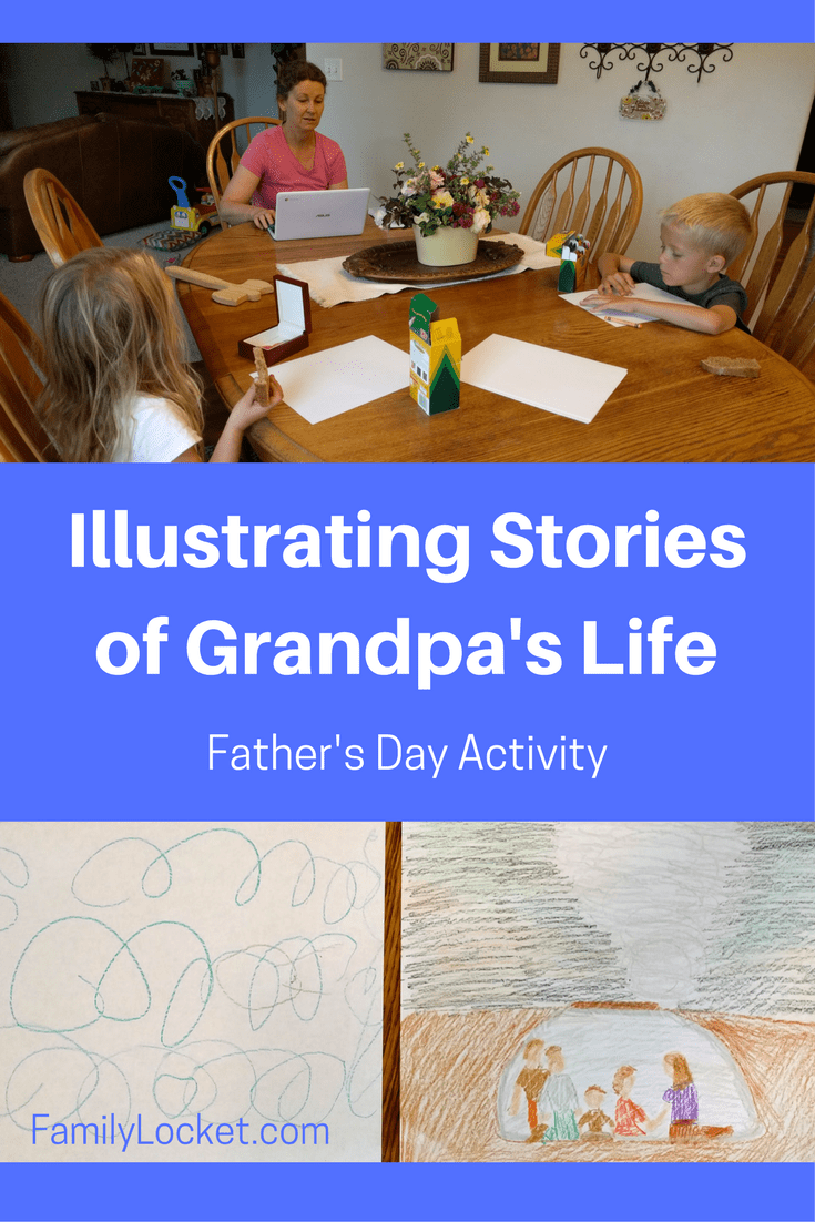 Illustrating Family Stories: The Adventures of Cowboy Bob – The Tornado