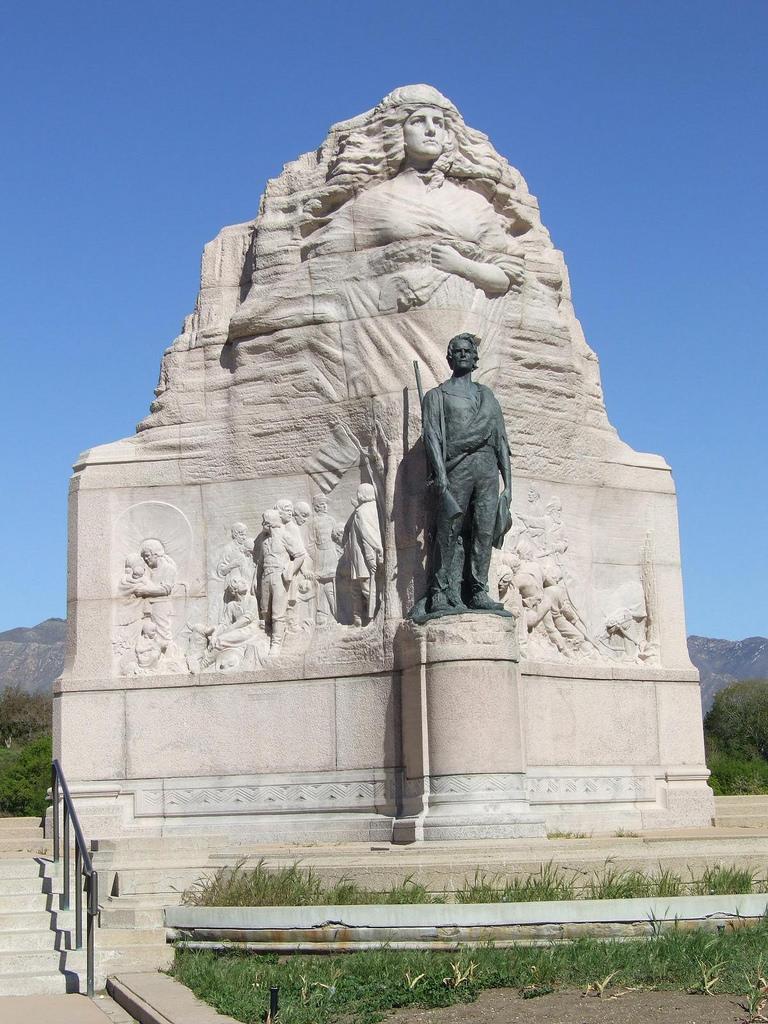 The Mormon Battalion Monument on Capitol Hill, Salt Lake