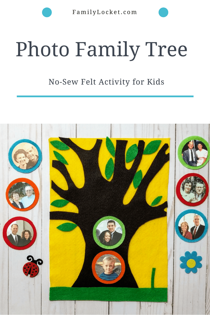 Photo Family Tree Activity