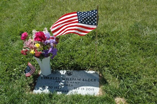 Headstone of Charles William Elder (1)