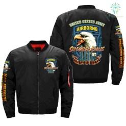 101ST AIRBORNE, SCREAMING EAGLES - OVER PRINT JACKET %tag familyloves.com