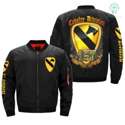 familyloves.com 1st cavalry division, courageous accountable vigilant v2.0 - OVER PRINT JACKET %tag