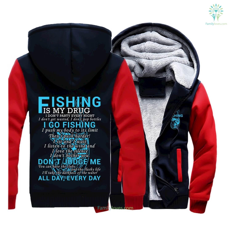 2017 Fishing Sweatshirts New Quotes Fisher Man Zip Hoodie