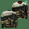 familyloves.com I Am A Marine Veteran I Love Freedom I Wore Dogtags I Have A DD-214 Over Print Jacket %tag