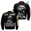 familyloves.com U.S. Army We Never Want to Fight But There Are Times SomeOne Has To Take Out THe Trash Over Print Jacket %tag