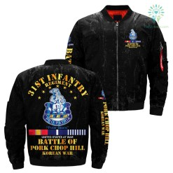 31st Infantry Regiment United States At War Battle Of Pork Chop Hill Korean War over print jacket %tag familyloves.com
