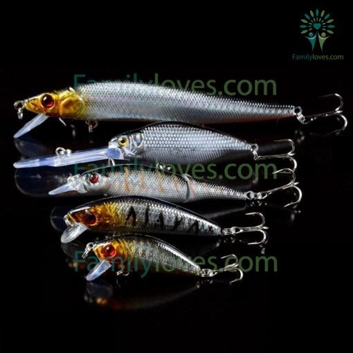 5pcs/Lot Fishing Lures Set Mixed 5 Models %tag familyloves.com