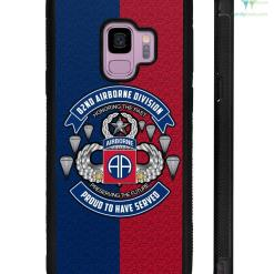 familyloves.com 82nd Airborne Division, Honor the past preserving the future Samsung, iPhone case %tag